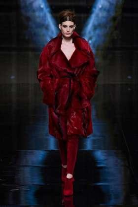 Elodia Prieto - Donna Karan 2014 Sonbahar-Kış Koleksiyonu