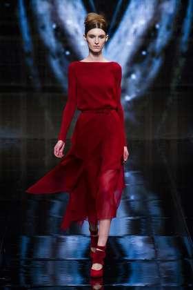 Manuela Frey - Donna Karan 2014 Sonbahar-Kış Koleksiyonu