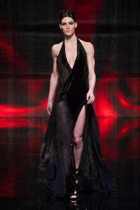 Hilary Rhoda - Donna Karan 2014 Sonbahar-Kış Koleksiyonu