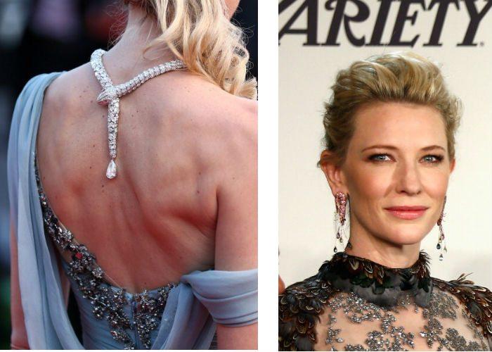 Ünlülerin Cannes Ödül Töreninde Mücevher Tercihleri