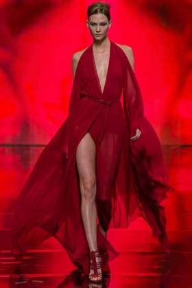 Karlie Kloss - Donna Karan 2014 Sonbahar-Kış Koleksiyonu