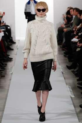 Steffi Soede - Oscar de la Renta 2014 Sonbahar-Kış Koleksiyonu