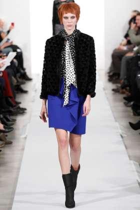 Juliana Schurig - Oscar de la Renta 2014 Sonbahar-Kış Koleksiyonu