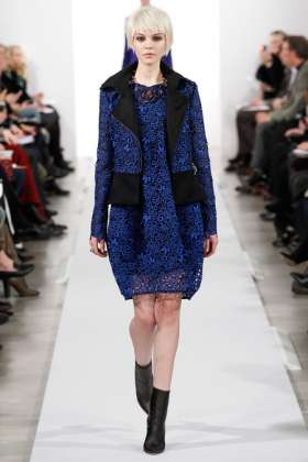 Kate Bogucharskaia - Oscar de la Renta 2014 Sonbahar-Kış Koleksiyonu