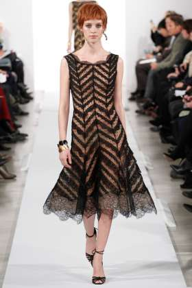 Julia Frauche - Oscar de la Renta 2014 Sonbahar-Kış Koleksiyonu