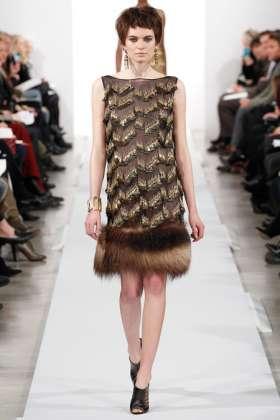 Nouk Torsing - Oscar de la Renta 2014 Sonbahar-Kış Koleksiyonu