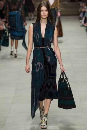 Ophelie Guillermand - Burberry Prorsum 2014 Sonbahar