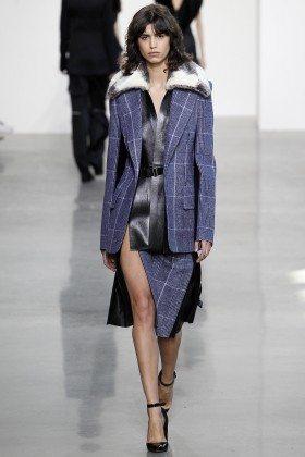 Mica Arganaraz - Calvin Klein Collection Fall 2016 Ready to Wear
