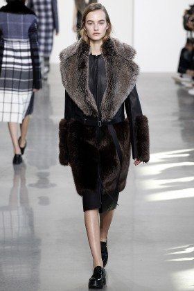 Maartje Verhoef - Calvin Klein Collection Fall 2016 Ready to Wear
