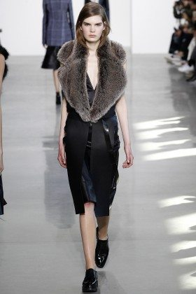 Sophie Rask - Calvin Klein Collection Fall 2016 Ready to Wear