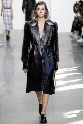 Mali Koopman - Calvin Klein Collection Fall 2016 Ready to Wear