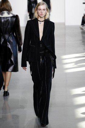 Nastya Sten - Calvin Klein Collection Fall 2016 Ready to Wear