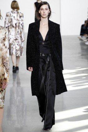 Ruby Aldridge - Calvin Klein Collection Fall 2016 Ready to Wear