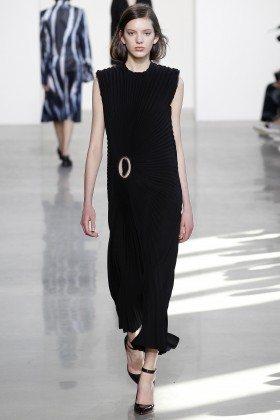 Caroline Reagan - Calvin Klein Collection Fall 2016 Ready to Wear