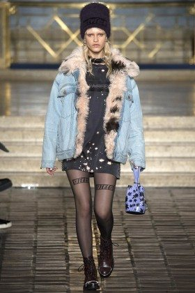 Eva Minaeva - Alexander Wang Fall 2016 Ready-to-Wear
