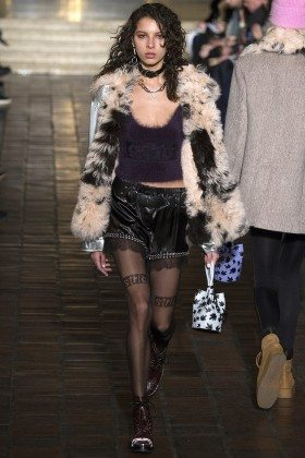 Alice Metza - Alexander Wang Fall 2016 Ready-to-Wear