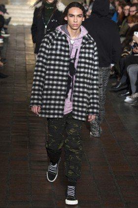 Damien Medina - Alexander Wang Fall 2016 Ready to Wear