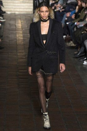 Binx Walton - Alexander Wang Fall 2016 Ready to Wear