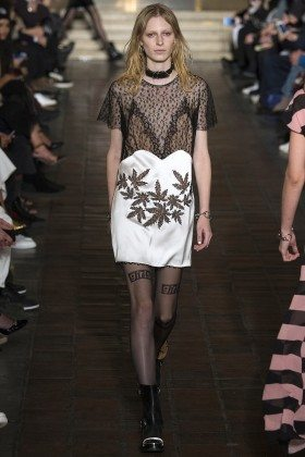Julia Nobis - Alexander Wang Fall 2016 Ready to Wear