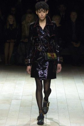Dilone - Burberry Fall 2016 Ready-to-Wear
