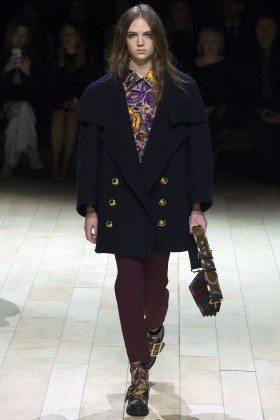 Adrienne Jüliger - Burberry Fall 2016 Ready-to-Wear
