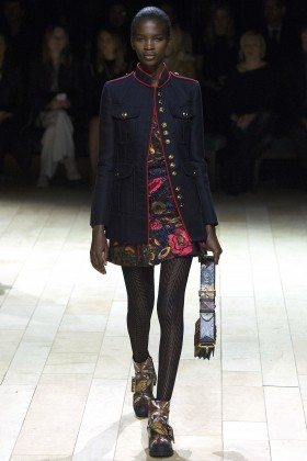 Aamito Lagum - Burberry Fall 2016 Ready-to-Wear