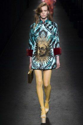 Julia Hafstrom - Gucci Fall 2016 Ready-to-Wear