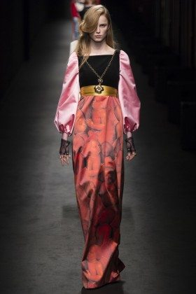 Rianne van Rompaey - Gucci Fall 2016 Ready-to-Wear