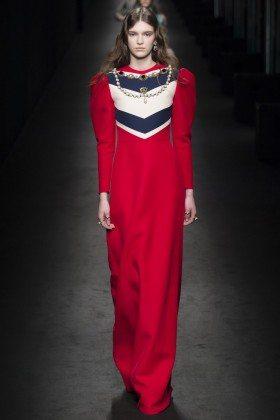Anka Kuryndina - Gucci Fall 2016 Ready-to-Wear