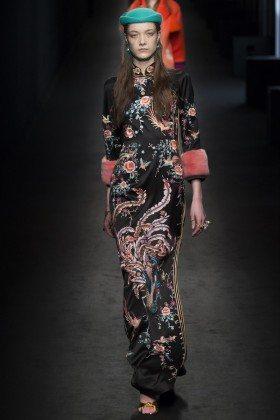 Yumi Lambert - Gucci Fall 2016 Ready-to-Wear