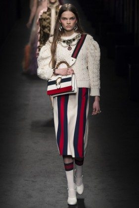 Caitie Greene - Gucci Fall 2016 Ready-to-Wear