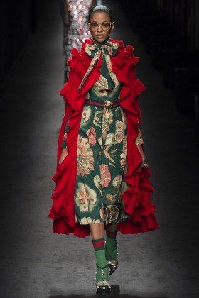 Aya Jones - Gucci Fall 2016 Ready-to-Wear