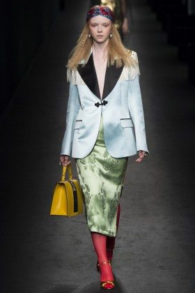 Lily Nova - Gucci Fall 2016 Ready-to-Wear