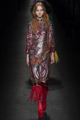 Madison Stubbington - Gucci Fall 2016 Ready-to-Wear