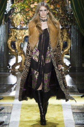 Liza Plotnikova - Roberto Cavalli Fall 2016 Ready-to-Wear