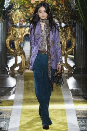 Julee Huang - Roberto Cavalli Fall 2016 Ready-to-Wear