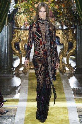 Julie Hoomans - Roberto Cavalli Fall 2016 Ready-to-Wear