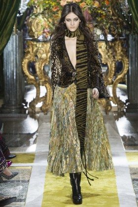Greta Varlese - Roberto Cavalli Fall 2016 Ready-to-Wear