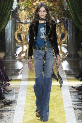Caroline Reagan - Roberto Cavalli Fall 2016 Ready-to-Wear