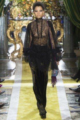 Lineisy Montero - Roberto Cavalli Fall 2016 Ready-to-Wear