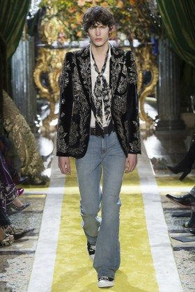 Elias de Poot - Roberto Cavalli Fall 2016 Ready-to-Wear
