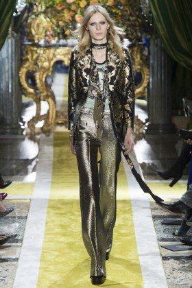 Julia Nobis - Julia Nobis - Roberto Cavalli Fall 2016 Ready-to-Wear