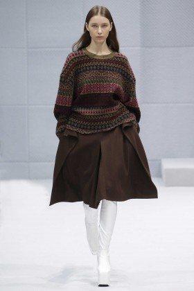 Sofia Tesmenitskaya - Balenciaga Fall 2016 Ready-to-Wear
