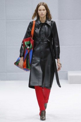 Mali Koopman - Balenciaga Fall 2016 Ready-to-Wear