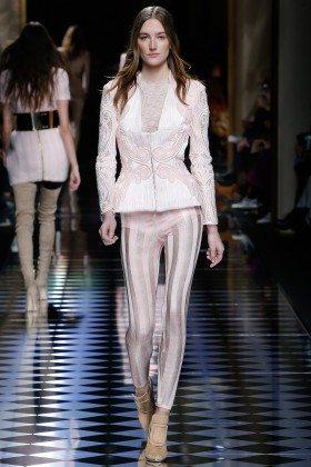 Josephine Le Tutour - Balmain Fall 2016 Ready-to-Wear