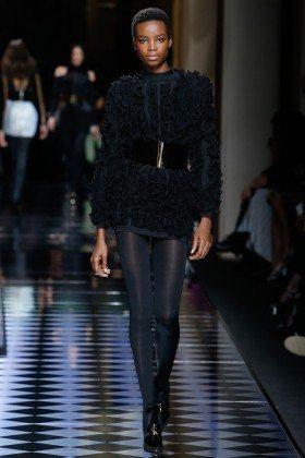 Maria Borges - Balmain Fall 2016 Ready-to-Wear