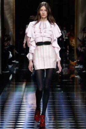 Daniela Aciu - Balmain Fall 2016 Ready-to-Wear