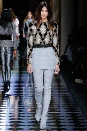 Devon Windsor - Balmain Fall 2016 Ready-to-Wear