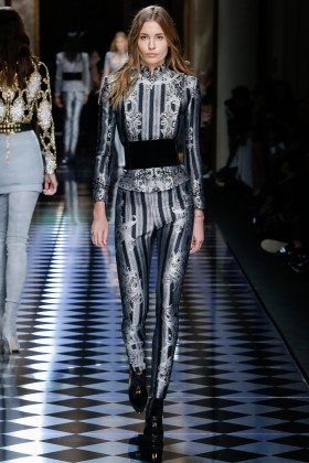 Nadja Bender - Balmain Fall 2016 Ready-to-Wear