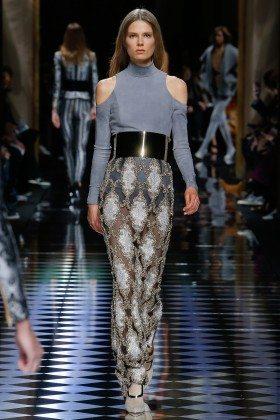Caroline Brasch Nielsen - Balmain Fall 2016 Ready-to-Wear